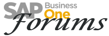 SAP Business One Forums